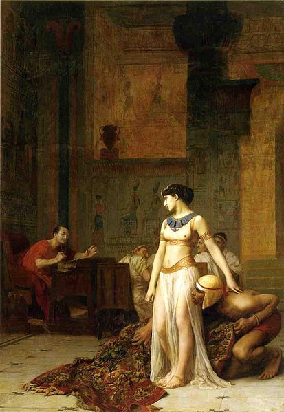 Cleopatra_and_Caesar_by_Jean-Leon-Gerome